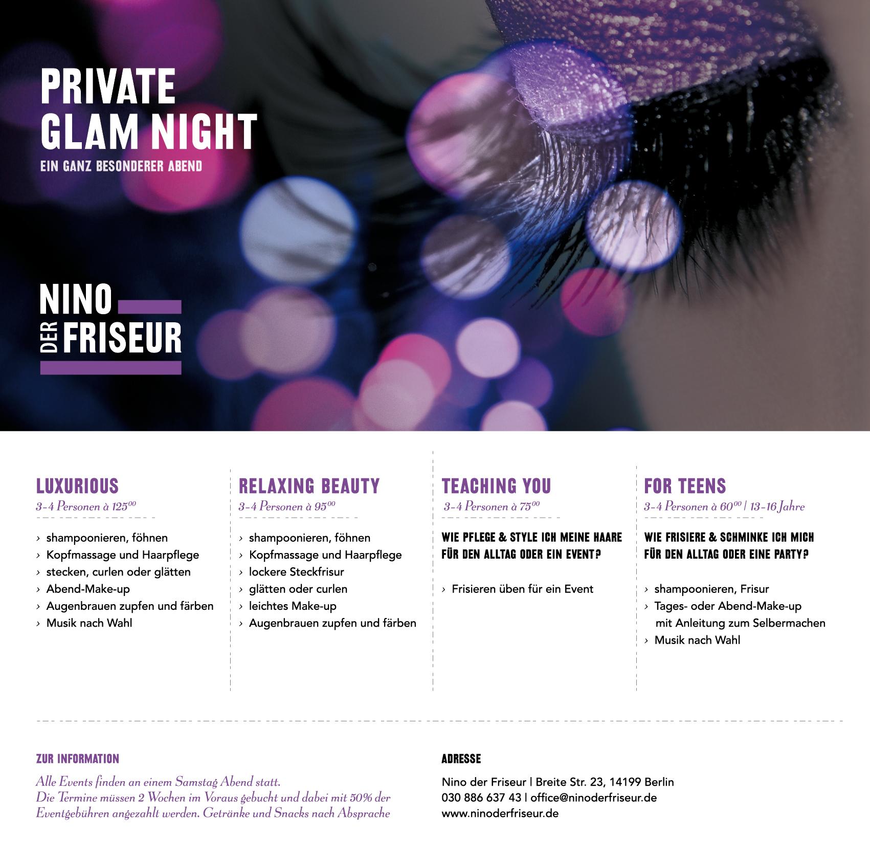 PRIVAT GLAM NIGHT